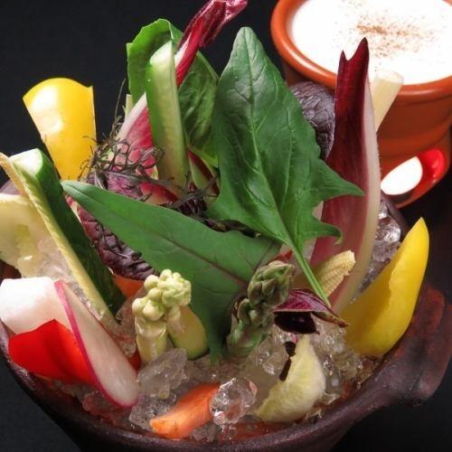糸島野菜のバーニャカウダー