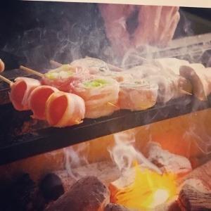 博多野菜巻き串×ねりつくね寅松 六本松店