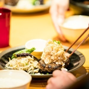 山本のハンバーグ六本松店