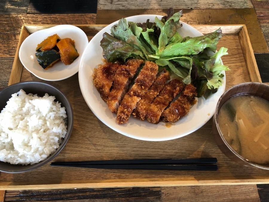 栗豚トンカツ定食